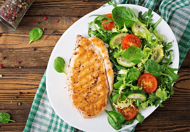อาหารเพื่อสุขภาพ อาหารคลีน